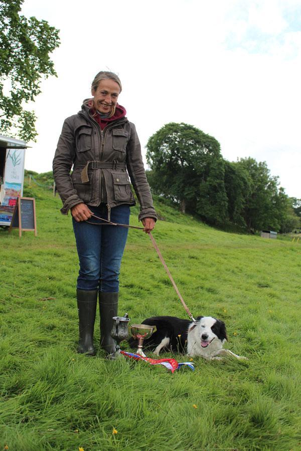 Champion Dog Mollie